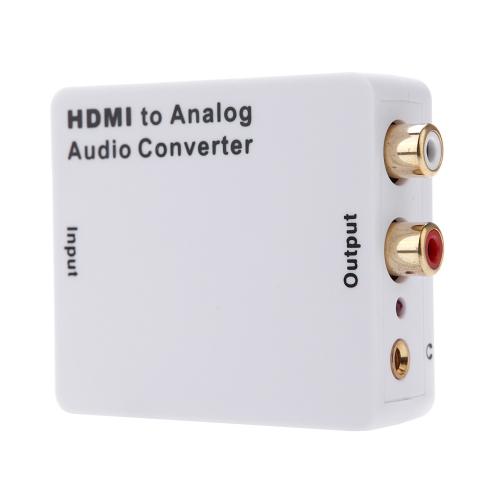 Een Hdmi Input To Rl Analog Audio Output Convertor Signal Digital Adapter  te koop aangeboden