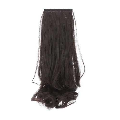A Wig Pear Flower Mawei Fake Ponytail Ms Wavy Curly  Hair Bind Type W053-4