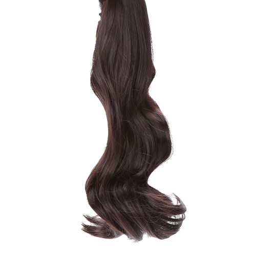Jaw Clip  Long Wavy Pony Tail Ponytail Wig Hairpiece Hair ExtensionPartial Wigs<br>Jaw Clip  Long Wavy Pony Tail Ponytail Wig Hairpiece Hair Extension<br><br>Blade Length: 31.5cm