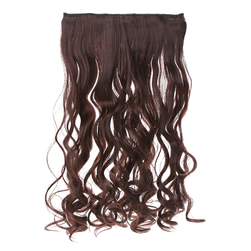 5Clips Clip in on Wavy Curl Hairpieces Slice Hair Extension PonytailPartial Wigs<br>5Clips Clip in on Wavy Curl Hairpieces Slice Hair Extension Ponytail<br><br>Blade Length: 40.0cm