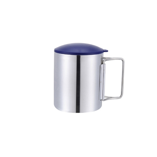 Thermal Camping Travelling Mug Cup Stainless Steel Water Cup Double Layer 220ml Y0072