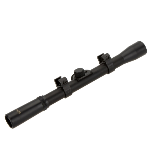 4X20 Tactical Hunting Sight Scope Riflescope for 22caliber Rifles and Airsoft Guns