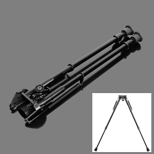 15-22 13 Level Adjustable Spring Return Telescopic Portable Sniper Hunting Rifle Bipod Sling Swivel MountHunting Tools<br>15-22 13 Level Adjustable Spring Return Telescopic Portable Sniper Hunting Rifle Bipod Sling Swivel Mount<br><br>Blade Length: 40.0cm