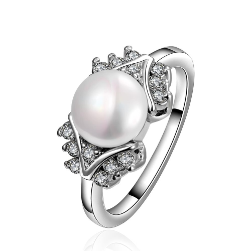 R015-8 wholesale latest pearl ring designs for