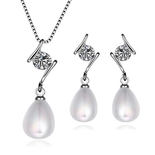 S045fashion new design women pearl jewelry set?