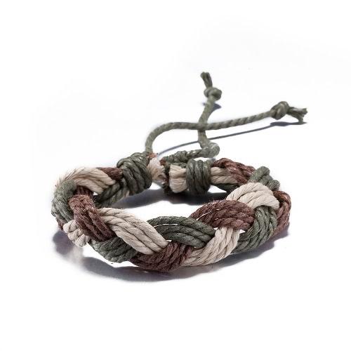 Vintage Fashion Cross Rope Leather Unisex BraceletBracelets &amp; Bangles<br>Vintage Fashion Cross Rope Leather Unisex Bracelet<br><br>Blade Length: 10.0cm