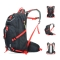 25L Water-resistant Breathable Cycling Bicycle Bike Shoulder Backpack Ultralight Outdoor Sports Riding Travel Mountaineering Hydration Water Bag with Rain Cover