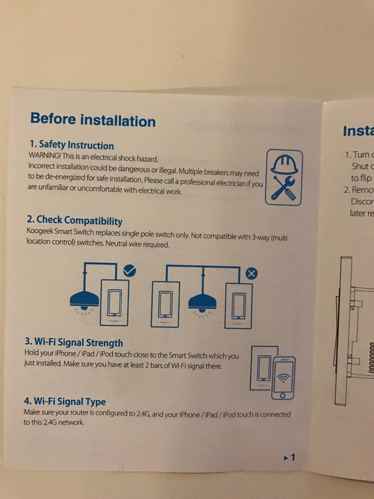 Koogeek Two Gang Wi Fi Enabled Smart Light Switch Works With Apple Xm 3000 Electric Scooter Wiring Diagram Gotta Get My Tv Configured Too That Will Be Next I Would Like To See This Work Remotely 5 Stars And Really Happy Decided Make The
