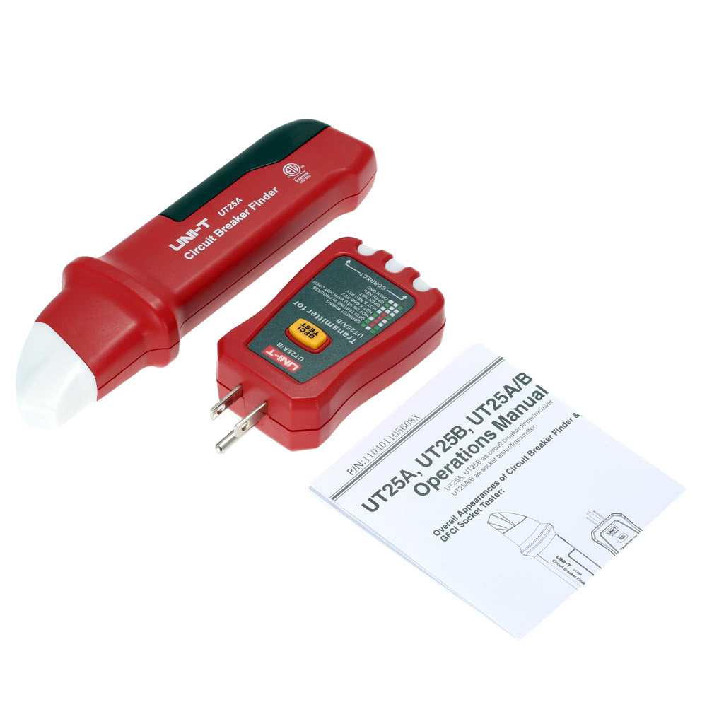 Uni T Ut25a B Automatic Circuit End 4 5 2017 615 Pm Breaker Finder 110v Ideal Electrical Receiver Transmitter Package List 1 Finderreceiver Socket Tester User Manual