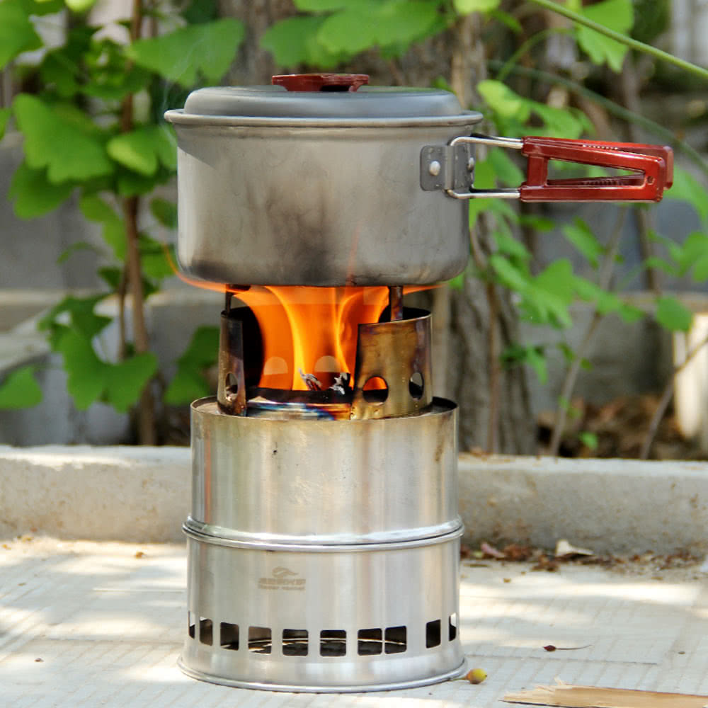 Cucina portatile pieghevole pirolitica stufa camino - Cucina portatile ...