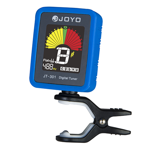 Joyo Jt301 Clipon Electric Digital Tuner Color Screen With Silica Gel Cover For Guitar Chromatic Bass Ukulele Violin Universal Portable kopen in de aanbieding